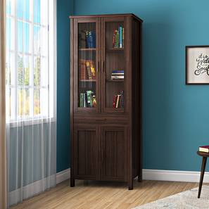 Norland Bookshelf (65-book capacity) (Dark Walnut Finish)