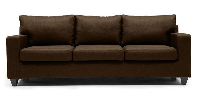Walton Sofa (Mocha) (Mocha, Fabric Sofa Material, Regular Sofa Size, Regular Sofa Type)