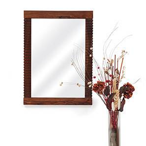 Alaya Mirror (Teak Finish)