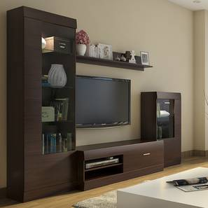 Merveilleux Ferdinand Entertainment Unit Set 2 (Dark Oak Finish)