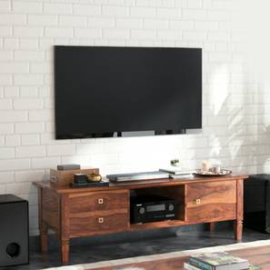 Malabar TV Unit (Teak Finish)