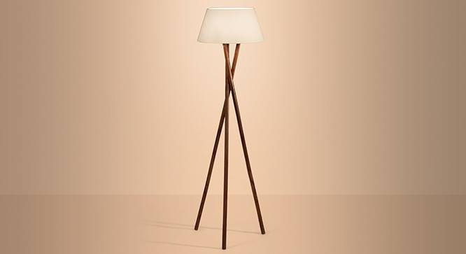 Lavu Floor Lamp - The gorgeous Lavu Floor Lamp blends rustic inspirations with minimalist elements to create a starkly beautiful form