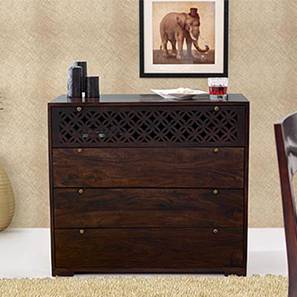 Alaca Chest of Drawers (Mahogany Finish)