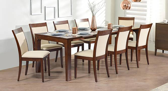 arco dalla 8 seater dining table set urban ladder