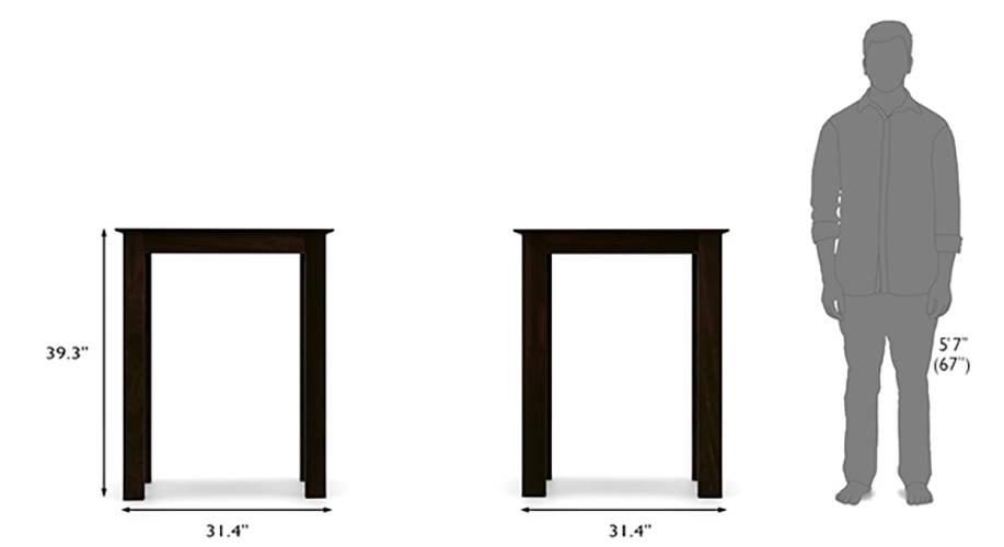 Arabia Oribi 4 Seater High Dining Table Set Urban Ladder : ArabiaOribi4SeaterHighDiningTableSetWheatBrownMahogany13 from www.urbanladder.com size 917 x 500 jpeg 58kB