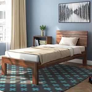 Boston Single Bed (Teak Finish) Part 56