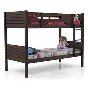 Lisbon Bunk Bed (Dark Walnut Finish)