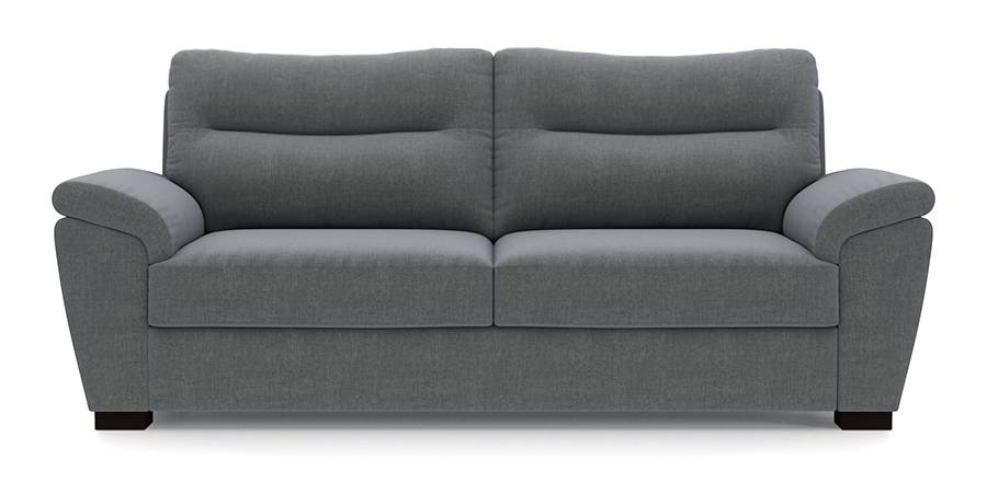 Adelaide Sofa (Smoke Grey) (Smoke, Fabric Sofa Material, Regular Sofa Size