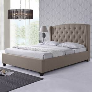 Holmebrook Upholstered Bed (King Bed Size, Mist Brown)