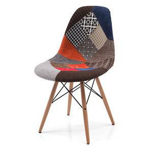 Eames dsw side chair replica patchwork 00 1h3t4004 lp