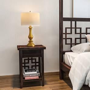 Aravalli Bedside Table (Mahogany Finish)