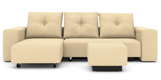 Xeno Configurable Sofa Set (Beige) (None Custom Set - Sofas, Beige, Fabric Sofa Material, Regular Sofa Size, Regular Sofa Type, Compact Set Standard Set - Sofas)