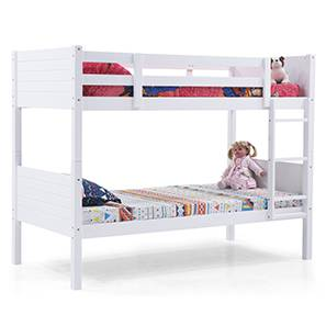 Lisbon Bunk Bed (White Finish)