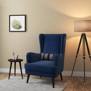 Genoa Wing Chair (Cobalt)
