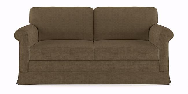 Cambridge Sofa (Brown) (Brown, 1-seater Custom Set - Sofas, None Standard Set - Sofas, Fabric Sofa Material, Regular Sofa Size, Modular Sofa Type)