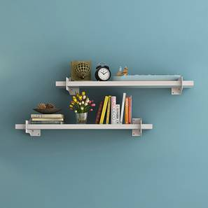 Ryter Shelves - Set Of 2 (White, 2.5' Shelves_Width)
