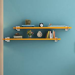 Ryter Shelves - Set Of 2 (Yellow, 4' Shelves_Width)