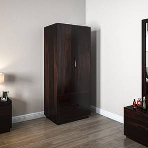 Zephyr Wardrobe (Mahogany Finish)