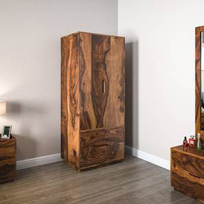 Zephyr Wardrobe (Teak Finish)