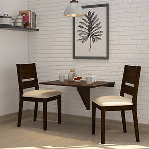 ivy cabalo fabric 2 seater wall mounted dining table set wh 00 lp - 2 Seater Dining Table Set