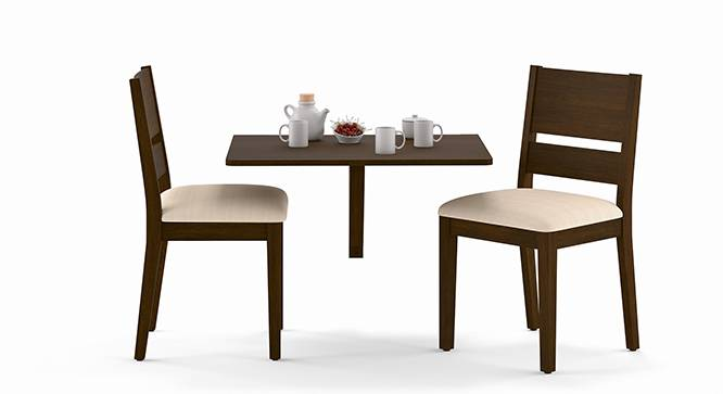Ivy Cabalo Fabric 2 Seater Wall Mounted Dining Table  : IvyCabaloFabric2SeaterWallMountedDiningTableSetWH02 from www.urbanladder.com size 666 x 363 jpeg 46kB
