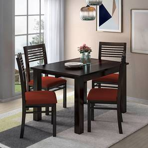 Arabia 4 to 6 Extendable Dining Table (Mahogany Finish)