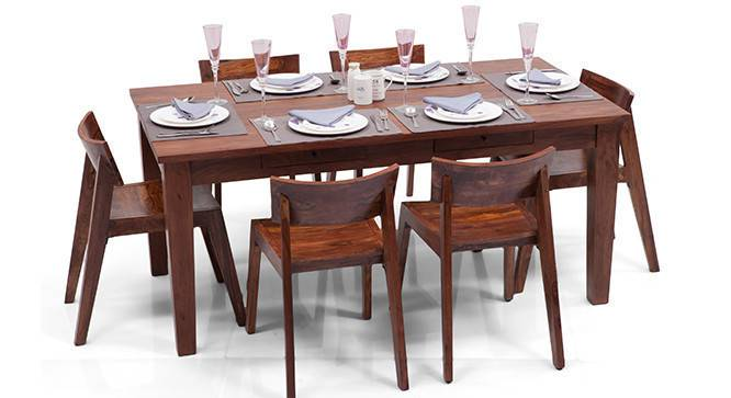 Oliver Gordon 6 Seater Storage Dining Table Set Urban  : OliverGordon6SeatDiningTableSetTeak01IMG0130 from www.urbanladder.com size 666 x 363 jpeg 68kB