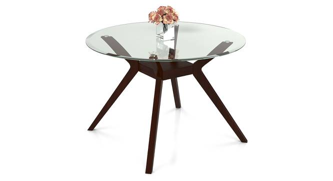 Wesley 4 Seater Round Glass Top Dining Table Urban Ladder : Wesley4seaterglasstopdiningtable01 from www.urbanladder.com size 666 x 363 jpeg 29kB