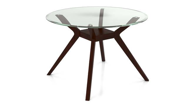Wesley 4 Seater Round Glass Top Dining Table Urban Ladder : Wesley4seaterglasstopdiningtable02 from www.urbanladder.com size 666 x 363 jpeg 27kB