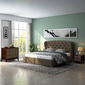 Holmebrook martino upholstered compact bedroom set kb lp