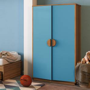Kevin 2 door wardrobe blue lp