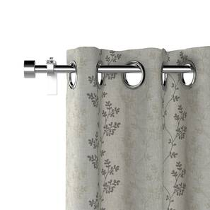 Moringa grey curtain set of 2 lp