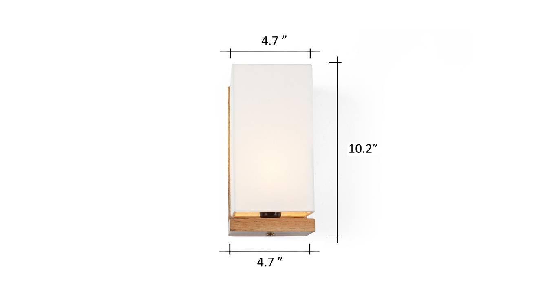 Pelham wall lamp natural 6
