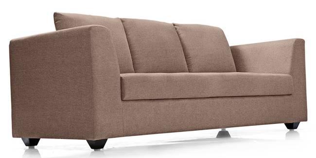 Astoria Sofa (Brown) (Brown, Fabric Sofa Material, Regular Sofa Size, Regular Sofa Type)