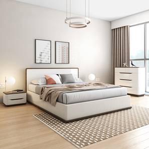 Baltoro high gloss hydraulic storage compact bedroom set king lp