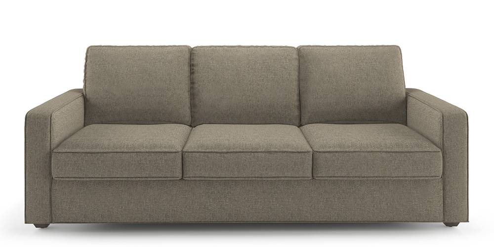 Apollo Sofa Set (Mist, Fabric Sofa Material, Regular Sofa Size, Soft Cushion Type, Regular Sofa Type, Individual 3 Seater Sofa Component) by Urban Ladder