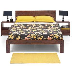 Valencia Essential Bedroom  Set (Teak Finish) (King Bed Size)