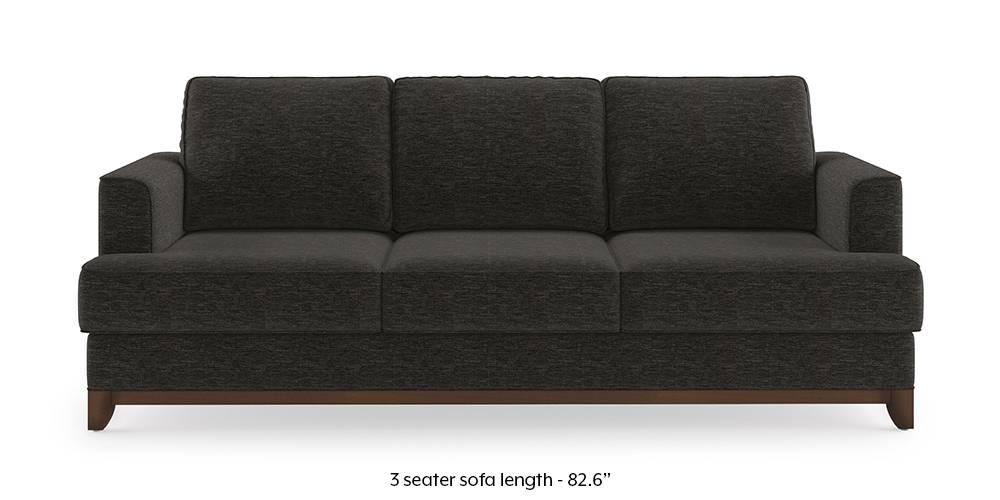 Halden Sofa (Cosmic Grey) (1-seater Custom Set - Sofas, None Standard Set - Sofas, Cosmic, Fabric Sofa Material, Regular Sofa Size, Regular Sofa Type) by Urban Ladder