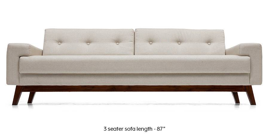 Venetti Sofa (Pearl White) (Pearl, Fabric Sofa Material, Regular Sofa Size, Regular Sofa Type) by Urban Ladder