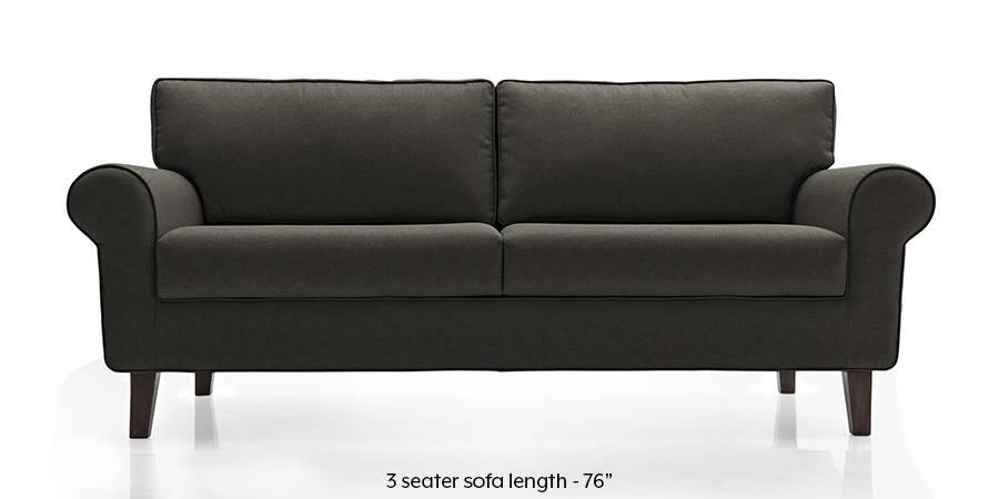 Oxford Sofa (Steel Grey) (Steel, Fabric Sofa Material, Regular Sofa Size, Regular Sofa Type) by Urban Ladder