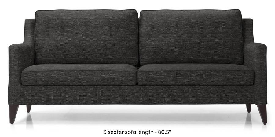 Greenwich Sofa (Cosmic Grey) (Cosmic, Fabric Sofa Material, Regular Sofa Size, Regular Sofa Type) by Urban Ladder