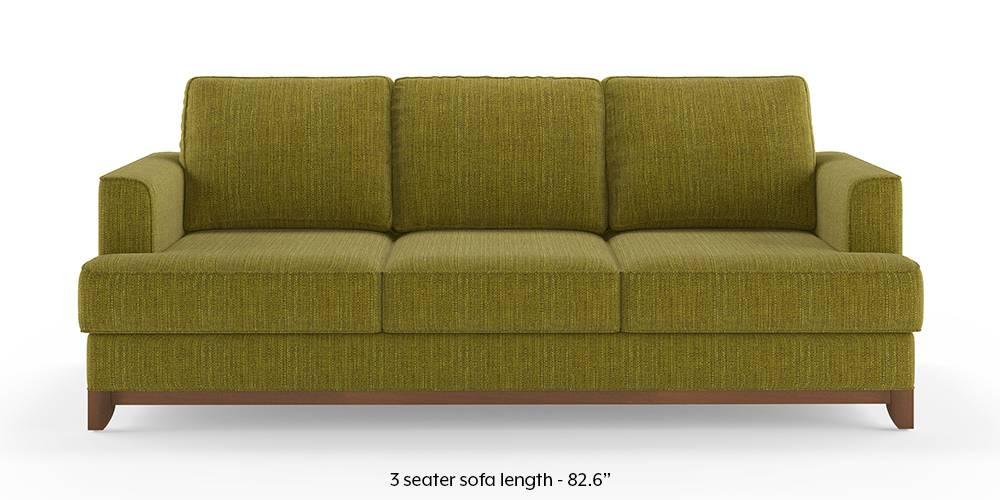 Halden Sofa (Olive Green) (1-seater Custom Set - Sofas, None Standard Set - Sofas, Olive, Fabric Sofa Material, Regular Sofa Size, Regular Sofa Type) by Urban Ladder