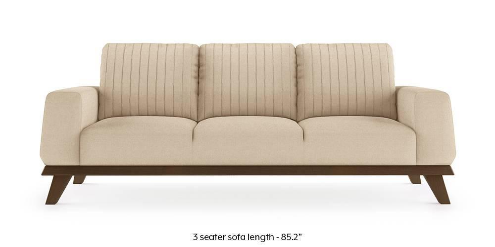 Granada Sofa (Pearl White) (Pearl, 1-seater Custom Set - Sofas, None Standard Set - Sofas, Fabric Sofa Material, Regular Sofa Size, Regular Sofa Type) by Urban Ladder