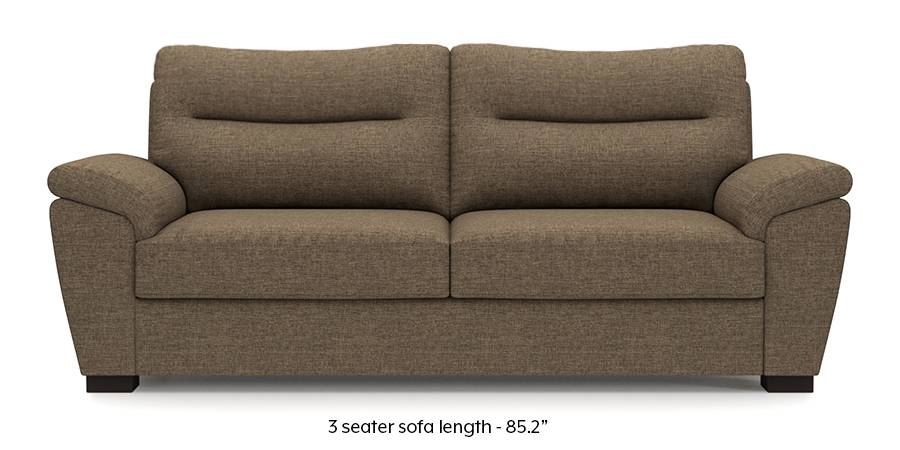 Adelaide Sofa (Dune Brown) (Dune, Fabric Sofa Material, Regular Sofa Size, Regular Sofa Type) by Urban Ladder