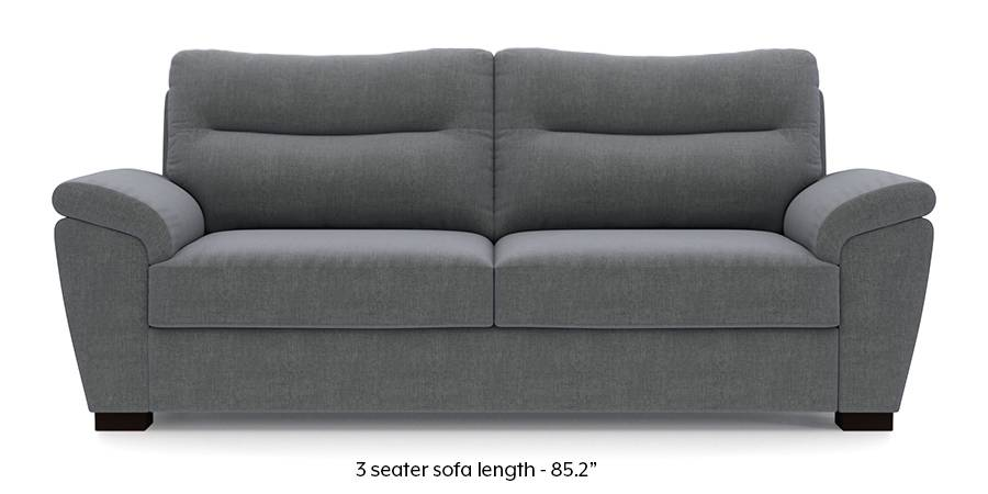 Adelaide Sofa (Smoke Grey) (Smoke, Fabric Sofa Material, Regular Sofa Size, Regular Sofa Type) by Urban Ladder