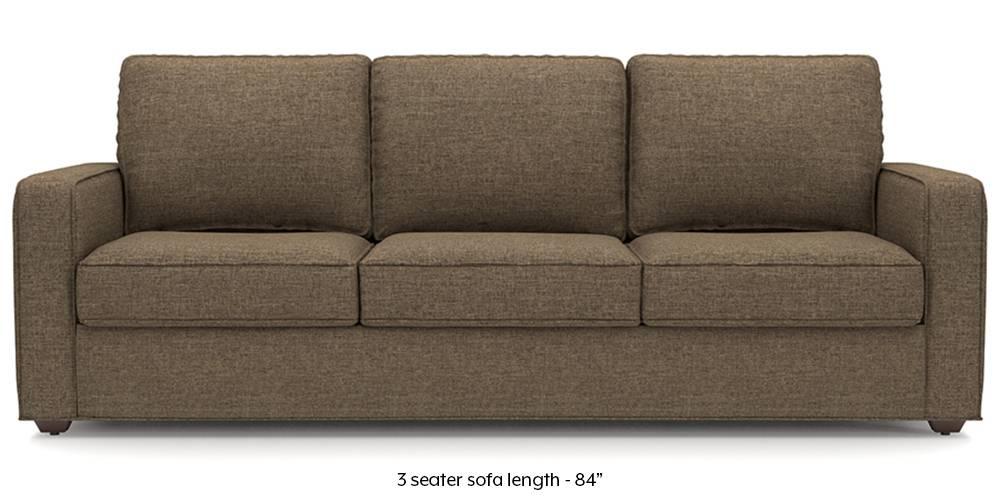 Apollo Sofa (Dune Brown) (Dune, Fabric Sofa Material, Regular Sofa Size, Regular Sofa Type) by Urban Ladder