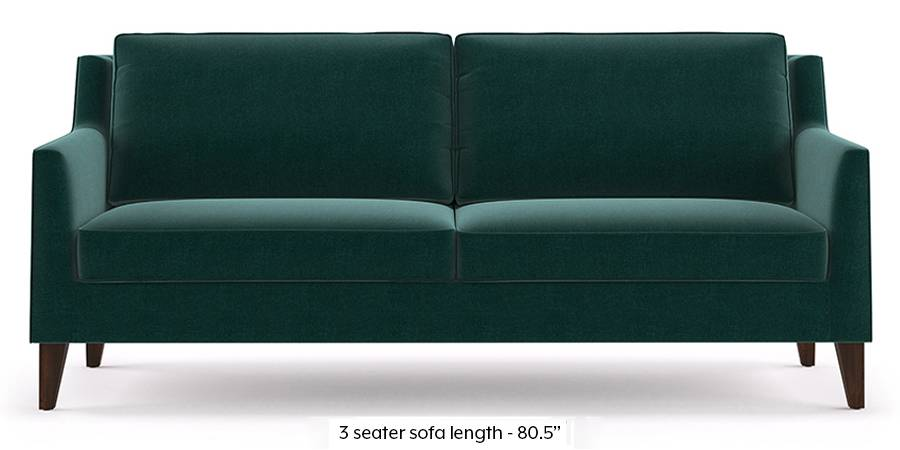Greenwich Sofa (Malibu Blue) (Fabric Sofa Material, Regular Sofa Size, Malibu, Regular Sofa Type) by Urban Ladder