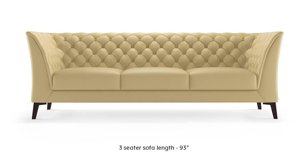 Weston Half Leather Sofa(Cream) (Cream, Cream, 1-seater Custom Set - Sofas, 2-seater Custom Set - Sofas, None Standard Set - Sofas, None Standard Set - Sofas, Regular Sofa Size, Regular Sofa Size, Regular Sofa Type, Regular Sofa Type, Leather Sofa Material, Leather Sofa Material) by Urban Ladder