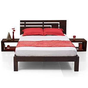 Stockholm Essential Bedroom Set (Mahogany Finish) (King Bed Size)