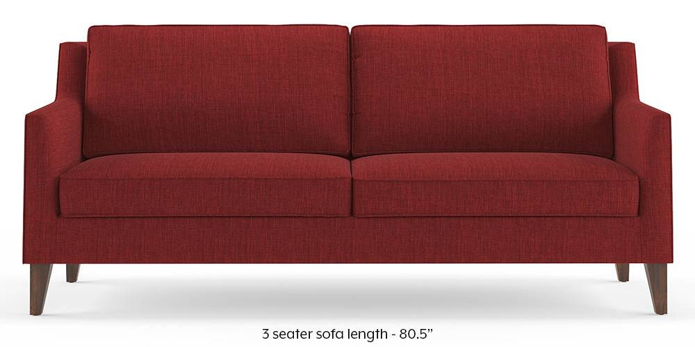 Greenwich Sofa (Salsa Red) by Urban Ladder